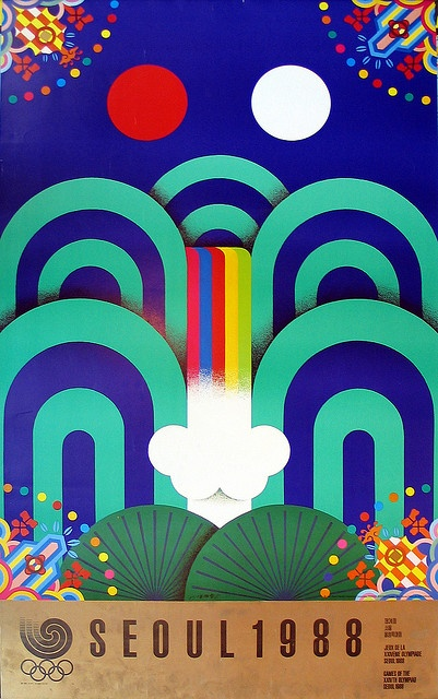 Seoul Olympics 1988 (Yang Seung-Choon) by inboundasiamagazine, via Flickr
