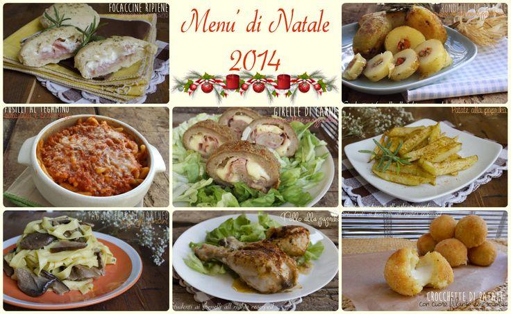 Menu di Natale 2014 a base di carne, un menù completo dall'antipasto al dolce per il pranzo di Natale. Ricette facili, veloci, gustose ma economiche.