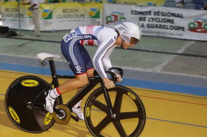 Laura Trott (Great Britain) won the omnium. Photo credit © Bettini