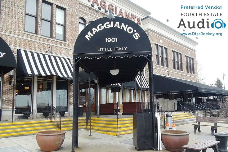 Welcome to Maaggiano's Little Italy in Schaumburg. http://www.discjockey.org/maggianos-schaumburg/