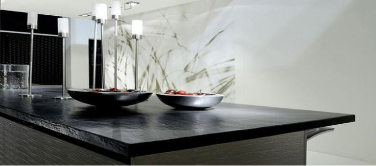 gestalten sie ihre k che mit einer sch nen arbeitsplatte aus schiefer vor allem eignet sich. Black Bedroom Furniture Sets. Home Design Ideas