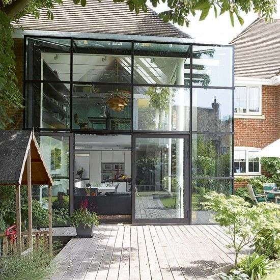 15 Best Images About Glass Doors For Kitchen Extensions On