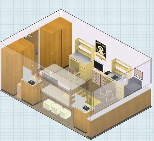 1000 ideas about dorm room layouts on pinterest room. Black Bedroom Furniture Sets. Home Design Ideas