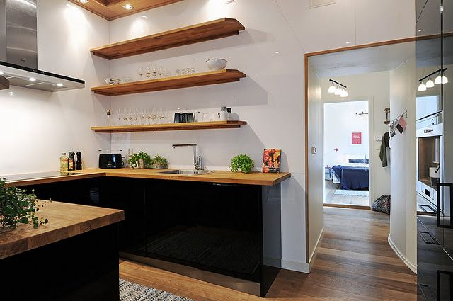 Best 36 Best Images About No Upper Kitchen Cabinets On 640 x 480