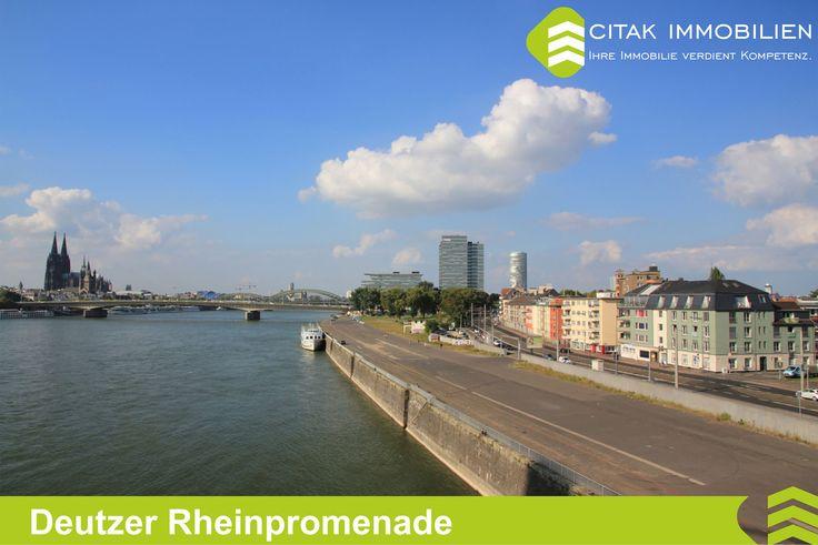 Köln-Deutz-Deutzer Rheinpromenade