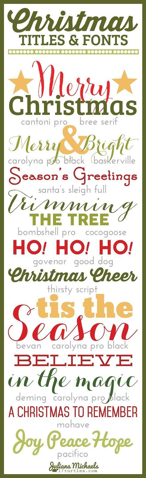 christmas scrapbook layout titles