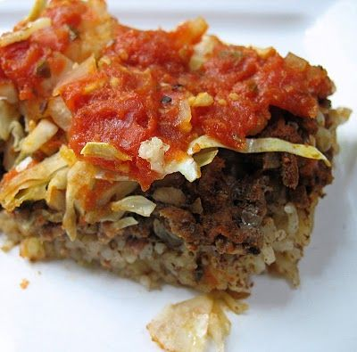 Layered Stuffed Cabbage Bake   Big Red Kitchen - a regular gathering of distinguished guests