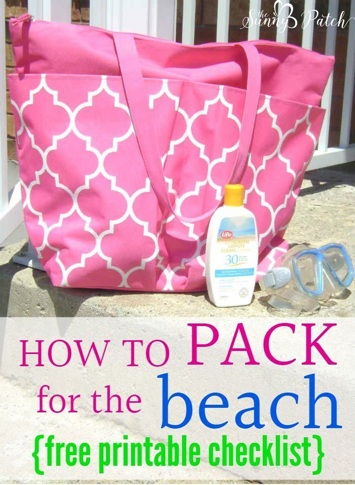 Spending a day at the beach is the perfect way to relax. Check out these tips that will show you how to pack for the beach & includes a packing checklist. {ad}