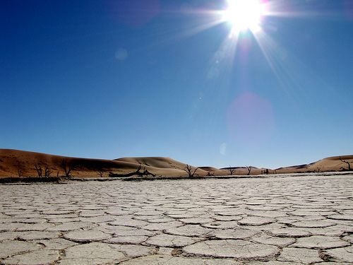 """""""Sun Shines Whenever You Feel It"""", deadsvlei, Namibia"""