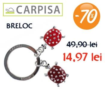 Breloc CARPISA cu 70% reducere! 14,97 RON în loc de 49,90 RON! Detalii în AFI Cotroceni Bucureşti şi pe www.shoes.ro!