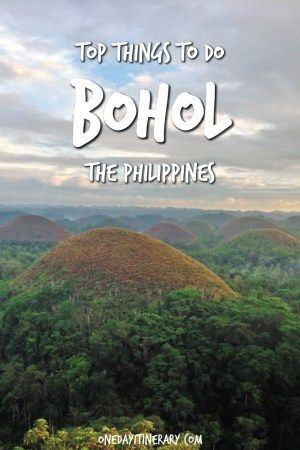 Top Things to do in Bohol Philippines