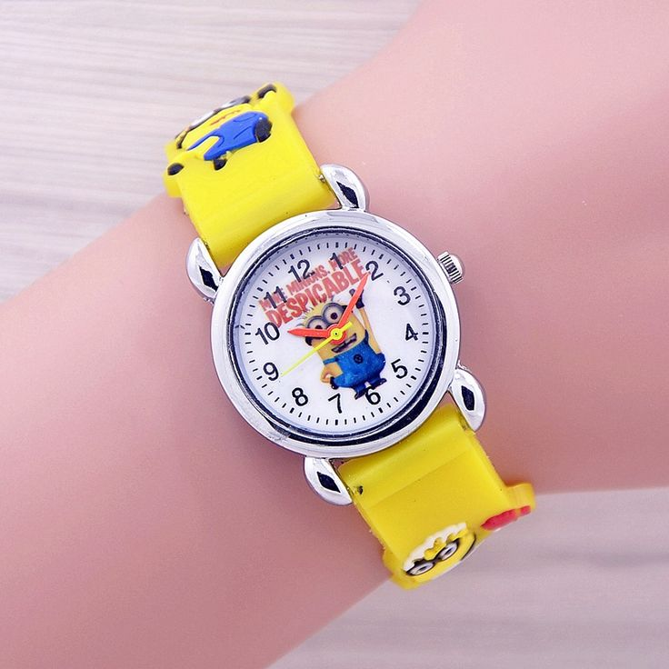 Despicable Me Minion Watch for Children     Tag a friend who would love this!     FREE Shipping Worldwide     Buy one here---> https://gift-store.moonbeo.com/minion-watch-children/