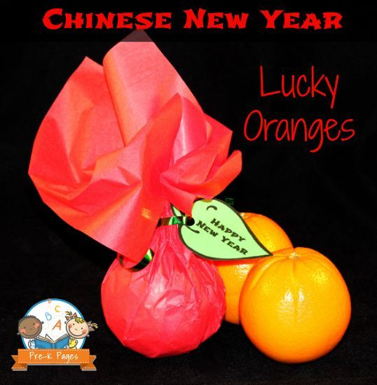 Celebrating Chinese New Year #CNY with Oranges in Preschool and Kindergarten {Free Printable}