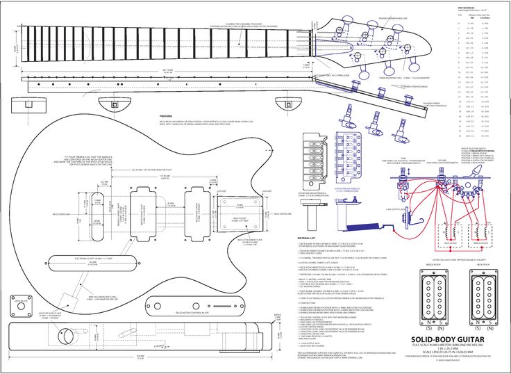 Best GuitarBass Plans Images On   Guitar Building