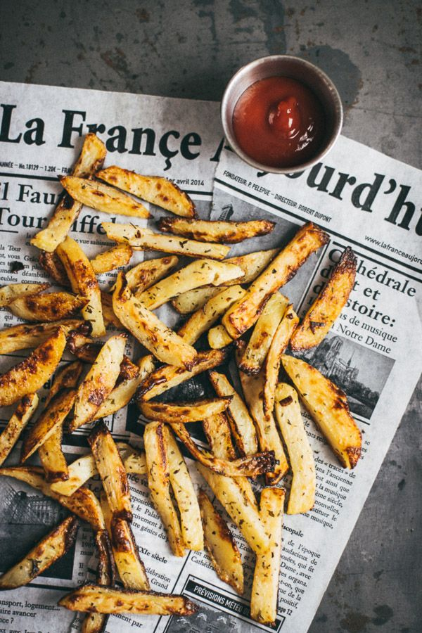 how to make homemade french fries in the oven crispy