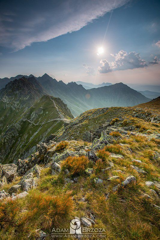 by Adam Brzoza/widok na Krzyżne i Orlą Perć #tatry #tatramountains #Poland #landscape #mountains
