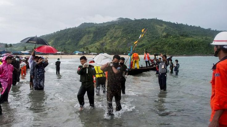 31 Jasad Korban Jatuhnya Pesawat Militer Myanmar Telah Ditemukan