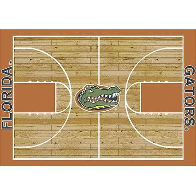 My Team by Milliken NCAA College Home Court Florida Novelty Rug Rug Size: