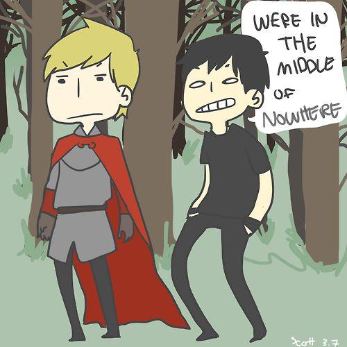 Arthur and Jethro Cane #Merlin #DoctorWho
