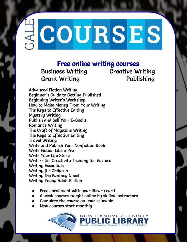 free creative writing classes 9 best online creative writing courses, schools & degrees  the following links are free courses you can take from prominent instructors and writers you can learn .