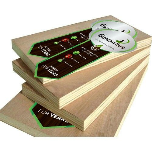 Plywood stickers example