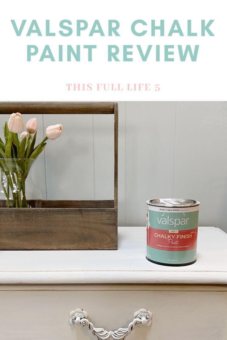 Transform Your Furniture With Valspar Chalk Paint In 2020 Valspar Chalk Paint Chalk Paint Valspar