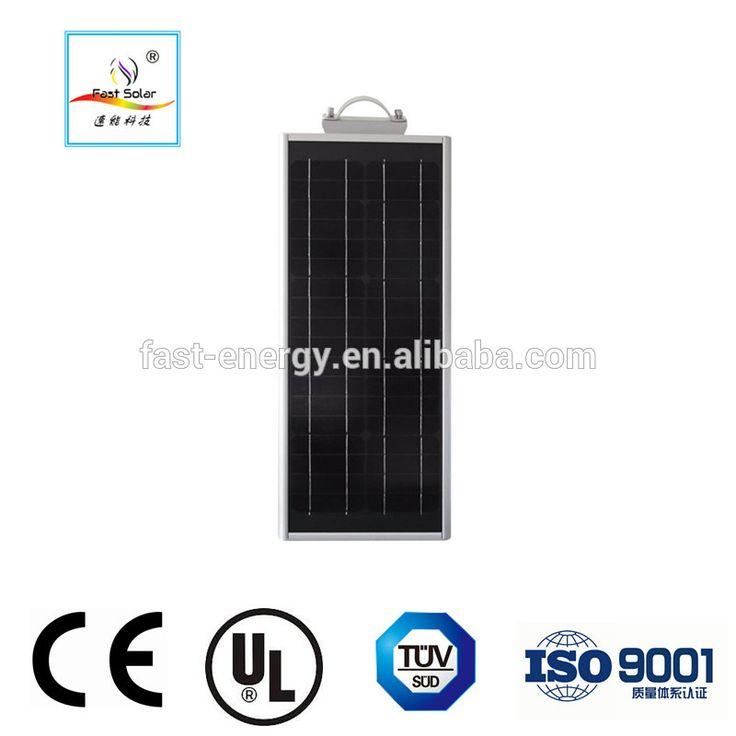 Fast Solar Superseptember 18W all in one solar street light & outdoor solar led street light with 40W mono solar panel
