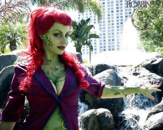 cosplay arkham Poison ivy