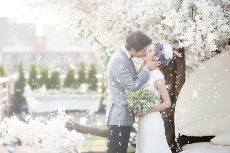 Korea Pre-Wedding Photography in Studio