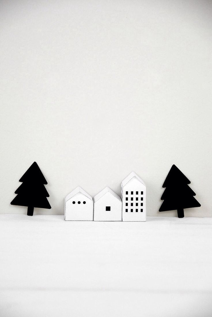 White house christmas decorations book - Find This Pin And More On Miniature Houses Adorable All White Christmas