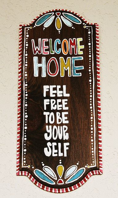 welcome home sign | Flickr - Photo Sharing!