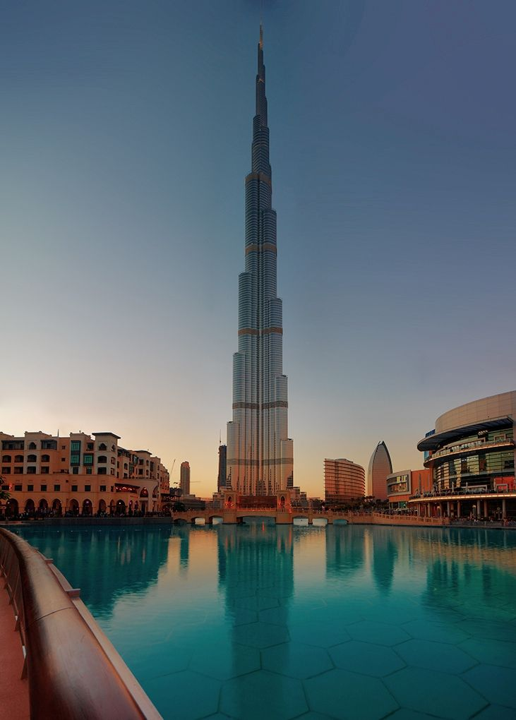 Burj Khalifa is a tangible proof of Dubai's growing role in a changing world