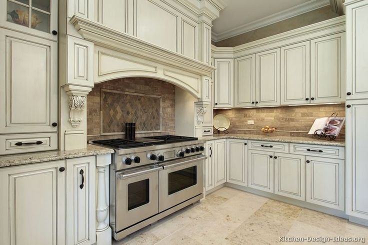 White Traditional Kitchen Images