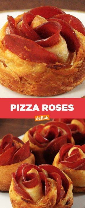 Screw flowers, Pizza Roses are the only thing your mom needs on Sunday. Get the recipe from Delish.com.