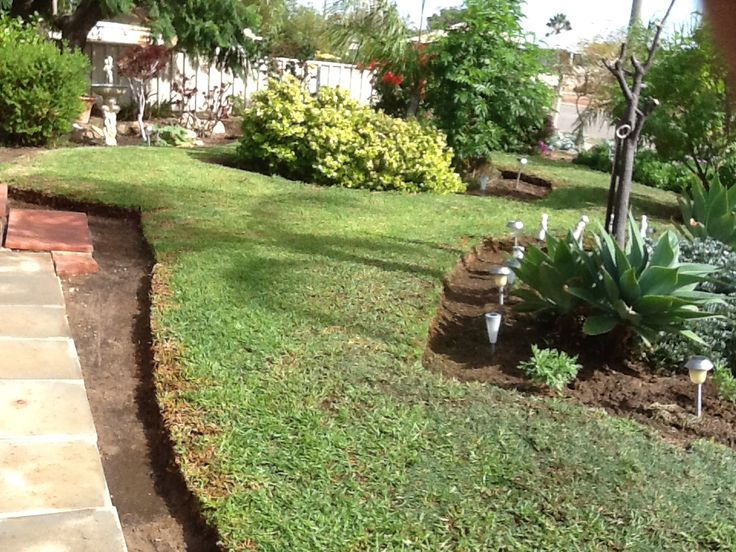 Just finished cutting all the edges of my front garden