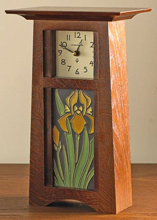 1000 ideas about craftsman clocks on pinterest clocks for Arts and crafts clocks for sale