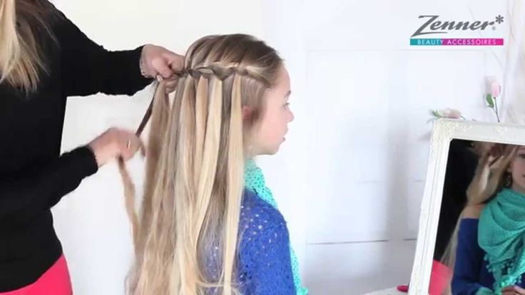 Watervalvlecht/ waterfall braid