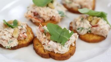 Toastje met Italiaanse tonijnsalade