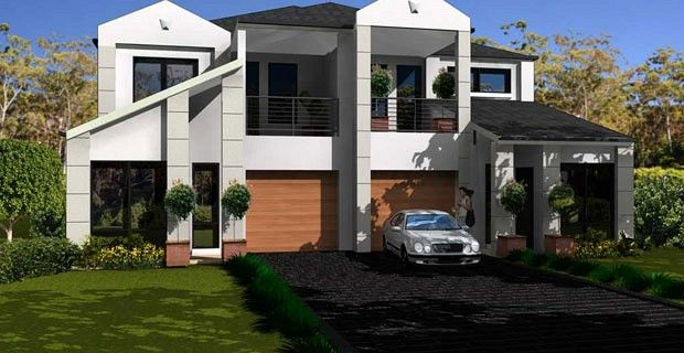 1000 images about home plans on pinterest house plans for Duplex home designs sydney