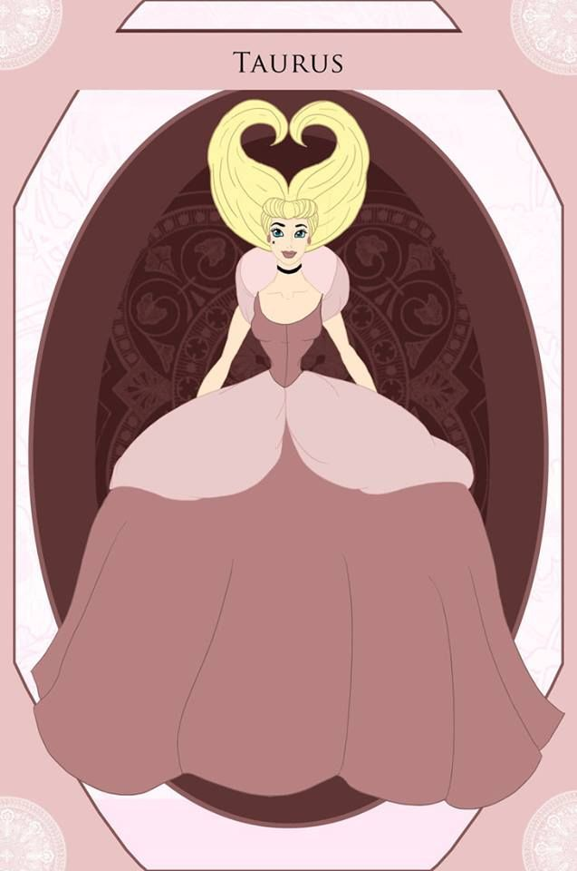 Des princesses de Disney transformées en signes astrologiques !