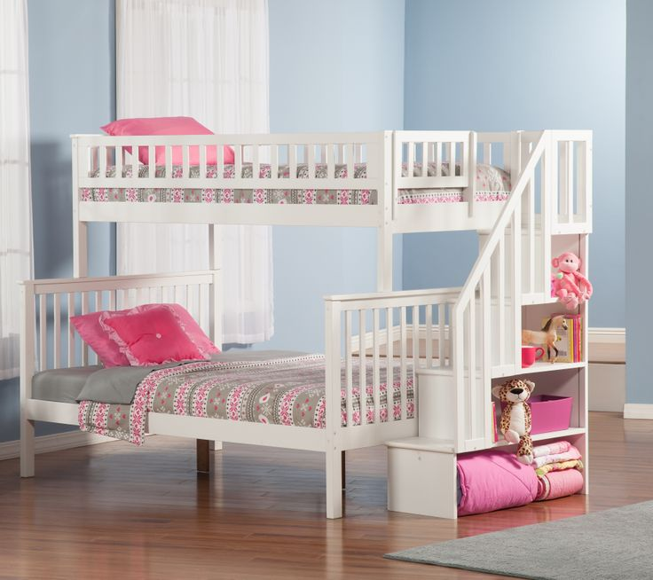 27 Best Bunk Beds With Stairs Images On Pinterest 3 4