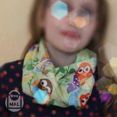 Anleitung Loopschal- Schlauchschal mit Maßen für Kinder und Erwachsene. Reich bebildert und leicht und schnell nachzunähen.