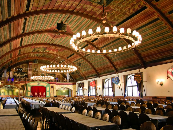 Hofbrauhaus In Munich Is Frequented By Tourists For