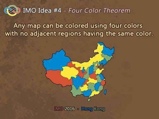 Διασκεδαστικά Μαθηματικά: Four Colorr Theorem