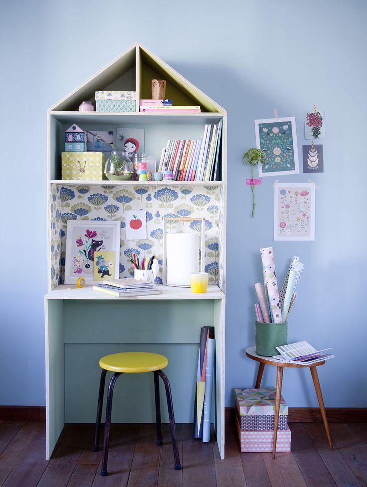 Création Mini Labo, pour Marie Claire Idées, with C.Soulayrol © julie ansiau