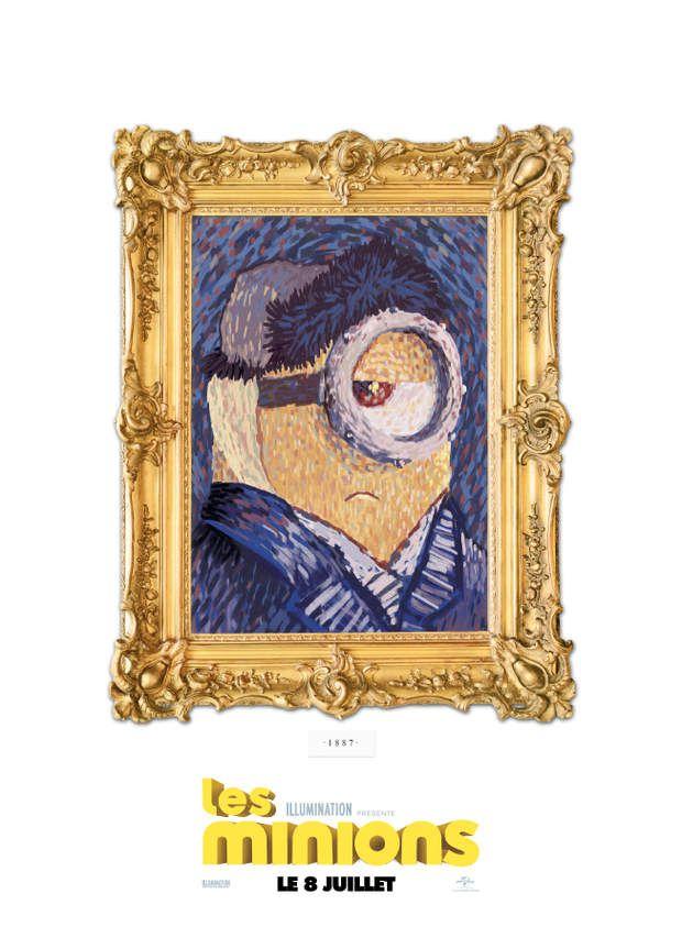 Stuart et son portrait made in Vincent van Gogh