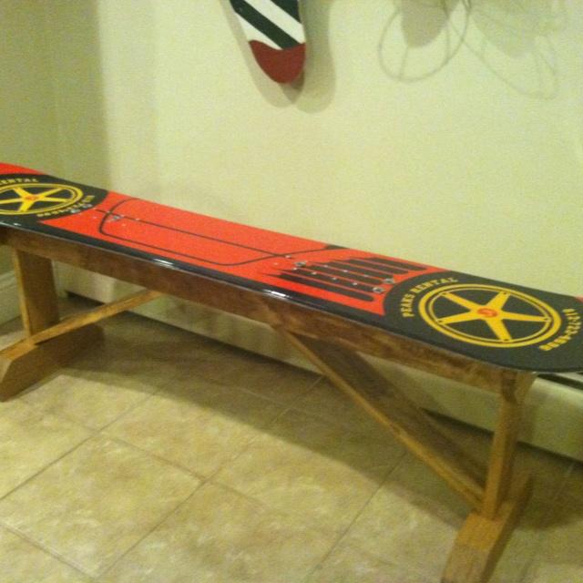 35 best snow boards images on pinterest skateboard for Skateboard chair plans