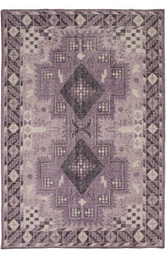 surya pazar pzr6002 eggplant rug