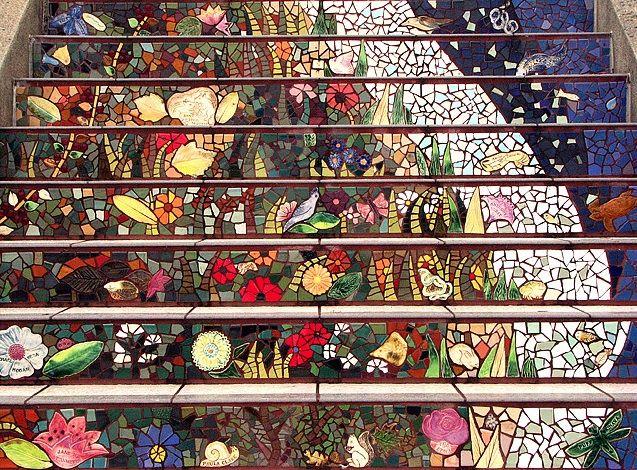 The Secret Mosaic Staircase in San Francisco - My Modern Metropolis