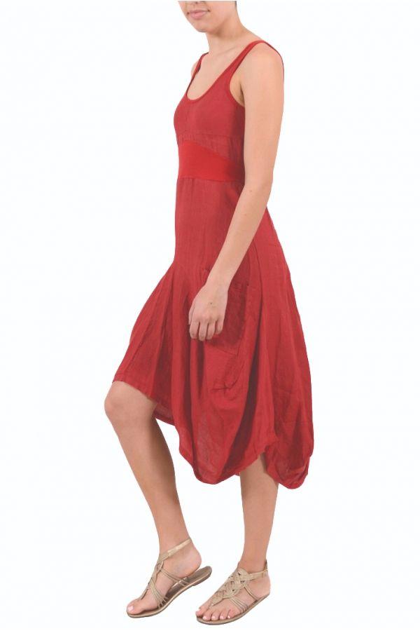 2 Pocket  Sleeveless linen dress from INIZIO- So cute!
